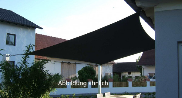 Sonnensegel Viereck ca. 19m² aus Soltis 92 (Alu)