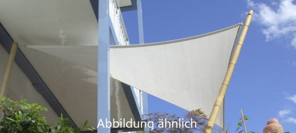 TÜV SÜD zertifiziertes Sonnensegel