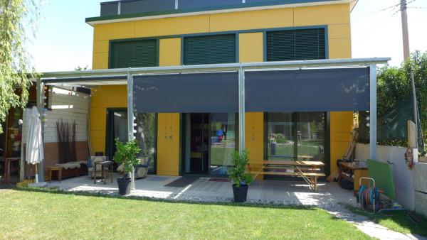 Rollvorhang Terrasse Sonnenschutz/Sichtschutz