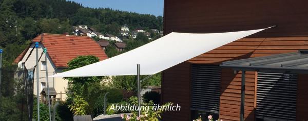 Sonnensegel Viereck ca. 4m² aus Airtex Classic (Weiß)